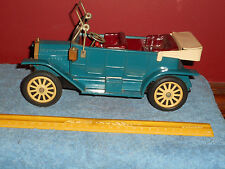 Vintage TIN FRICTION TOY 1908 Ford Model-T Yonezawa / SSS? Made In Japan 10""
