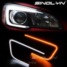 For Subaru WRX STI Headlight C-Rings LED Circuit Board DRL Switchback C-Light