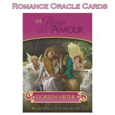 Doreen Virtue Romance Angel Oracle Cards 44-Card Deck English