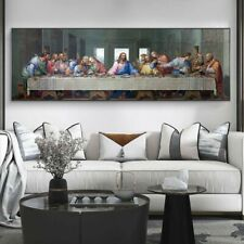 The Last Supper Canvas Posters Wall Art And Prints Famous Christ Art Pictures Wa