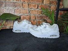 New listing Nike Air Max 90 Women's Kids Trainers Shoes Pure White UK Size 2