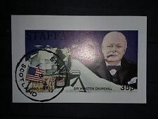 Scotland Vandersanden Staffa souvenirausgabe para el parque nacional lunar Churchill