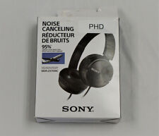 Sony Noise Cancelling Wired Headband Headphones Black (MDRZX110NC)