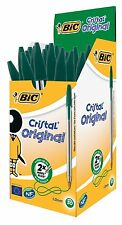 BiC Cristal Medium 1.0mm Ball Pen Box of 50 - Green