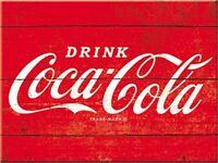 Drink Coca Cola Metall Kühlschrank Magnet (Na )