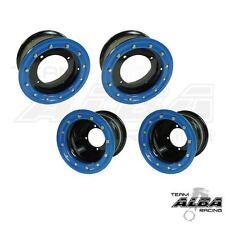 LTR 450 LTZ 400  Front  Rear Wheels  Beadlock 10x5 9x8  Alba Racing  blk/bl 41