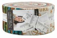 "Moda, Explore, Jelly Roll, 2.5"" Fabric Quilting Strips, 19910JR, J03"