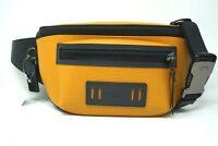 Coach Men's Leather Colorblock Marigold Yellow Terrain Crossbody Belt Bag F72941