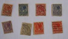 Vintage Netherlands Postage Stamps    --  8 Lot