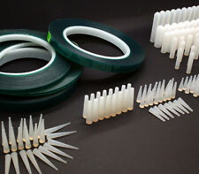380Pc Precision Powder Coating Kit For Fine Line Masking - Tapes, Caps & Plugs