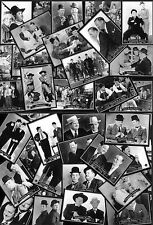 SUPERB 72 Laurel & and Hardy CANDID TRADING CARD SET
