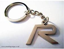 NEW CHROME Metal VOLVO R Keyring key chain
