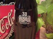 Cincinnati Bengals 30th Anniversary coke bottle