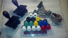 Jamma, mame, Happ arcade parts kit: 2 4/8 joysticks, 16 buttons, 1 jamma cable