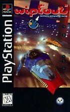Wipeout Sony PlayStation 1 1995 PS1 Long Box Tested PS2 PSX