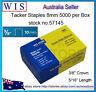 Galvanized Staples,Hammer Tacker Staple Foil Insulation Wrap Instal,5K/box-57145