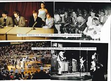 Beatles pictures 1964 American Tour Olympia Detroit Mi.  12 different  Lot #1