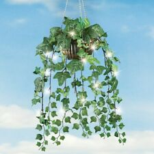 Beautiful Artificial Ivy Hanging Plant with 40 LED Lights