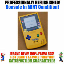 *NEW SCREEN* Nintendo Game Boy Color GBC Pikachu Pokemon Limited Custom System