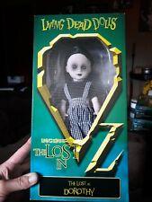 Living Dead Doll Dorothy Lost In Wizard Of Oz Mip Mezco Sealed Original