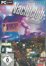 PC CD-ROM + club nocturno simulador + Bar + discoteca + 3d economía simulación + win 8