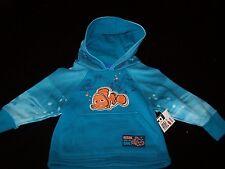 "Boys~2T~~""Nemo"" pullover Hoodie~Disney~ Blue~Cute~Newl!  NWCOT!"