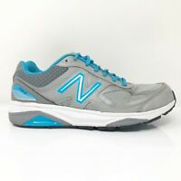 New Balance Womens 1540 V3 W1540SP3 Gray Blue Running Shoes Lace Up Size 7.5 D