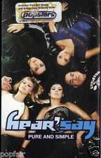 HEAR'SAY - PURE AND SIMPLE 2001 EU CASSINGLE CARD SLEEVE SLIP-CASE