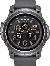 Nixon - The Mission Smartwatch 48mm Polycarbonate - Black