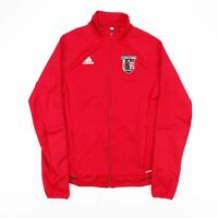Vintage ADIDAS Red Full Zip Track Sports Jacket Women's Size Small