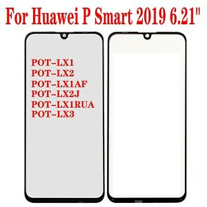 For Huawei P Smart 2019 Front Outer Screen Glass Lens Replacement