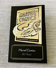 Disney Marvel Comics 80 Years 2019 Original Not Knock Off D23 Gold Member Pin