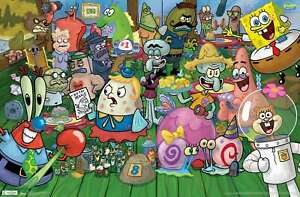 Nickelodeon Spongebob - Character Poster