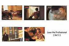 LEON THE PROFESSIONAL - SET OF 5 A4 SIZED REPRINT LOBBY POSTERS # 1