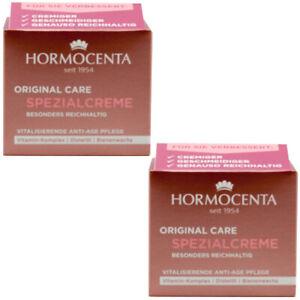 Hormocenta SPEZIALCREME 2 x 50 ml für trockene und reife Haut ANTI AGE