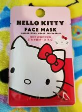 Sanrio Mad Beauty Printed Face Mask Hello Kitty Design with Strawberry Extract