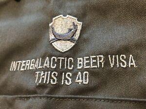 Official Brewdog 'This Is 40' Beer Visa Dickies Grey Shirt (Size XL) NEW