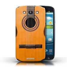 STUFF4 Case/Cover for Samsung Galaxy S3/SIII/Guitar/Wood/Wooden Acoustic