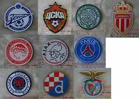 uk UEFA league soccer football club iron-on embroidered patch applique badge