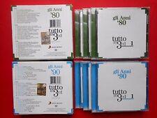 cofanetti box set 3 cd compact disc anni 80 anni 90 scialpi vasco rossi anna oxa