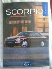 Ford SCORPIO FOLLETO 1995 Ed 2