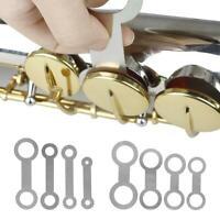 8pcs Flat Pressure Pad for Höhen/Alto/Tenor/Bass Holzbläser Saxophon Reparatur ✪