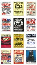 The Beatles UK Concert Posters Trading Card Set Vol 1