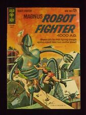 MAGNUS, ROBOT FIGHTER, NO. 3 , AUGUST, 1963, 8.0, VF.