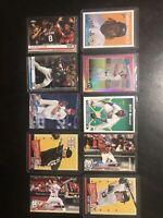 Baseball Super Star Rookie Card Lot Of (10)- Topps, Guerrero Jr, Optic, Prizm