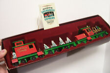 Wood Toy EVERGREEN EXPRESS CHRISTMAS TRAIN w/STORY BOOKLET by Doug Norrgard NM