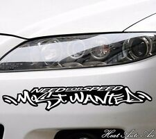 09# NEED FOR SPEED MOST WANTED Car Window Body Decal Racing Graphics Sticker