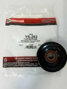Genuine Ford Accessory Drive Belt Idler Pulley 1L2Z-8678-AB