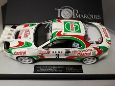 Top Marques Toyota Celica Turbo 4WD #3 Rally Montecarlo 1993 Auriol 1/18