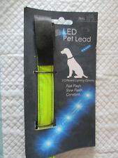 Luz perro Plomo (BNWT) parpadea o luz constante.